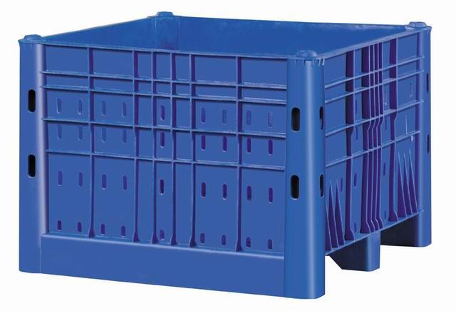 Harga container plastik besar - kotak pallet Australia Vented HDPE Australian