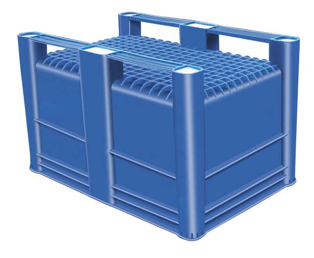 Harga Box Plastik Besar - Euro container palletSolid USDA HDPE Euro 1200x800