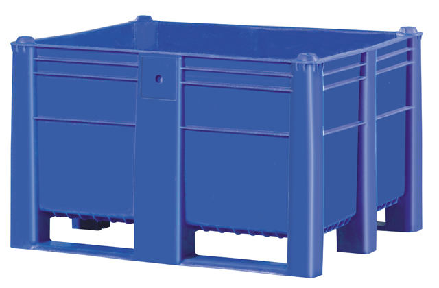 Harga Container plastik besar - box pallet di jakarta, Solid HDPE ISO 1200x1000