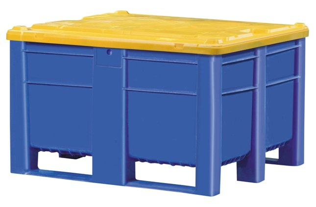 Harga Container Plastik Besar - ISO box pallet Solid HDPE ISO 1200x1000