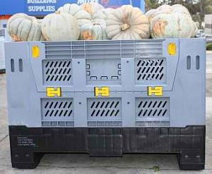 container plastik besar - box lipat berventilasi (vented)