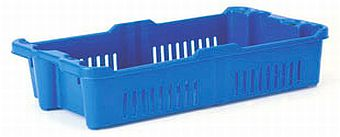 Container plastik - jual box di indonesia, PP, Stack and nest, Food, Reusable/RPC, Vented, C2GP1010-03V