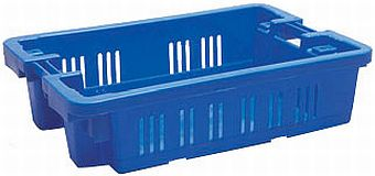 Container plastik - jual box di indonesia, HDPE, Stack and nest, Food, Reusable/RPC, Vented, C2GP1012-05V
