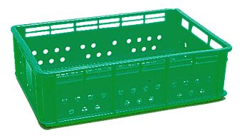 Container plastik - jual box di indonesia, HDPE, Stackable, Agriculture, Food, Vented, C2GP1022-06V