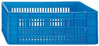 Container plastik - jual box di indonesia, PP, HDPE, Stackable, Agriculture, Vented, C2GP1026-12V