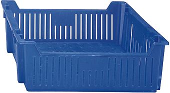 Container plastik - jual box di indonesia, PP, Stack and nest, Agriculture, Vented, C2GP1029-17V
