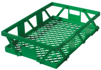 Container plastik - jual box di indonesia, PP, Stack and nest, Food, Reusable/RPC, Vented, C2GP103-50V
