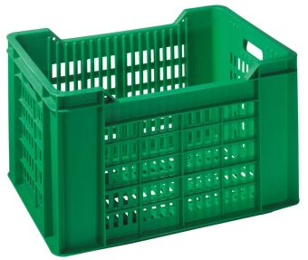 Container plastik - jual box di indonesia, PP, Stackable, Agriculture, Food, Reusable/RPC, Vented, C2GP105-00V