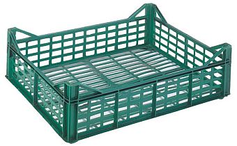 Container plastik - jual box di indonesia, PP, Stackable, Agriculture, Vented, C2GP109-50V