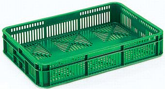 Container plastik - jual box di indonesia, HDPE, Stackable, Agriculture, Food, Vented, C2GP181-60V
