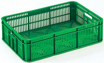 Container plastik - jual box di indonesia, HDPE, Stackable, Agriculture, Food, Vented, C2GP182-40V