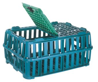 Container plastik - jual box di indonesia, PP, Stackable, Agriculture, Food, Reusable/RPC, Vented, C2GP201-00V