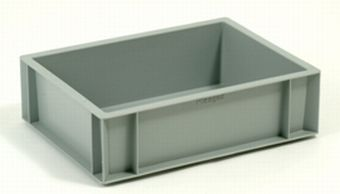 Container plastik - jual box di indonesia, PP, Stackable, Automotive, Euro 600x400, Food, Reusable/RPC, Solid, C2GP3211S
