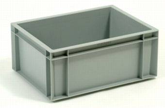 Container plastik - jual box di indonesia, PP, Stackable, Automotive, Euro 600x400, Food, Reusable/RPC, Solid, C2GP4316S