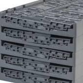 box plastik -  jual container di Jakarta, Folding Vented, 48L lipat (dilipat) container plastik berventilasi. Sewa mulai dari harga USD$0.02 / box / hari!, 48 liter lipat (dilipat) kontainer plastik berventilasi untuk sistem kemasan pulang Standard Australia, C2GP5528FV
