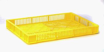 Container plastik - jual box di indonesia, HDPE, Stackable, Agriculture, Euro 600x400, Food, Reusable/RPC, Vented, C2GP6407V