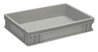 Container plastik - jual box di indonesia, PP, Stackable, Automotive, Euro 600x400, Food, Reusable/RPC, Solid, C2GP6412S