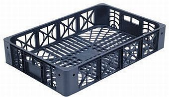 Container plastik - jual box di indonesia, PP, Stackable, Agriculture, Euro 600x400, Food, Reusable/RPC, Vented, C2GP6412V