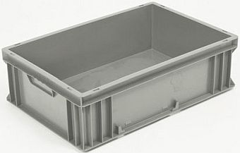 Container plastik - jual box di indonesia, PP, Stackable, Automotive, Euro 600x400, Food, Reusable/RPC, Solid, C2GP6418S