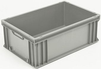 Container plastik - jual box di indonesia, PP, Stackable, Agriculture, Euro 600x400, Food, Reusable/RPC, Solid, C2GP6422S