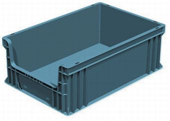 Container plastik - jual box di indonesia, PP, , Automotive, Euro 600x400, Solid, C2GP6422SOF