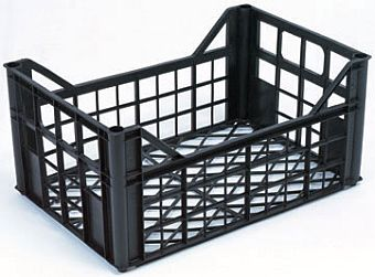 Container plastik - jual box di indonesia, PP, Stackable, Agriculture, Euro 600x400, Food, Vented, C2GP6428LV