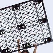 Harga pallet plastik - jual palet,  Export, ISO 1200x1000 , Light Weight
