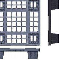 Harga pallet plastik - jual palet,  Export, Australian 1100x1100 , Light Weight
