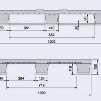 Harga pallet plastik - jual palet,  Export, ISO 1200x1000 , Medium Duty