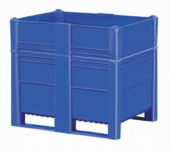 Bulk Container by plastic 2 go indonesia - the best large box in jakarta! Solid, HDPE, Euro 1200x800, B2GD1208H100S