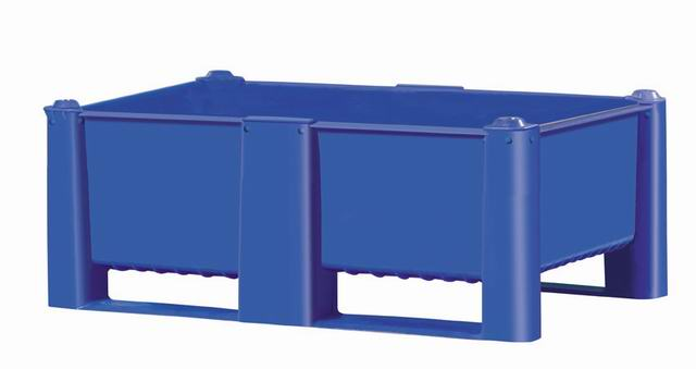 Bulk Container by plastic 2 go indonesia - the best large box in jakarta! Solid, HDPE, Euro 1200x800, B2GD1208H44S