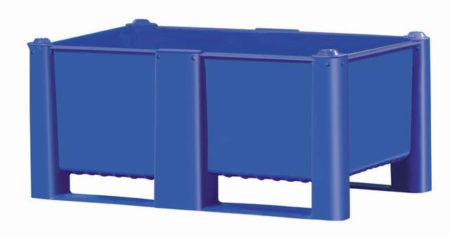 Bulk Container by plastic 2 go indonesia - the best large box in jakarta! Solid, HDPE, Euro 1200x800, B2GD1208H54S