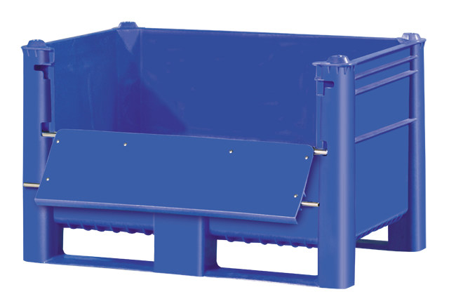 Plastic Bulk Container - best plastic box in Indonesia, Solid, HDPE, Euro 1200x800, B2GD1208H74SUD