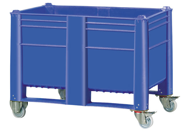 Bulk Container by plastic 2 go indonesia - the best large box in jakarta! Solid, HDPE, Euro 1200x800, B2GD1208H74SW