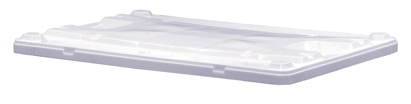 Plastic Bulk Container - best plastic box in Indonesia, Euro LID, HDPE, Euro 1200x800, B2GD1208LIDSW