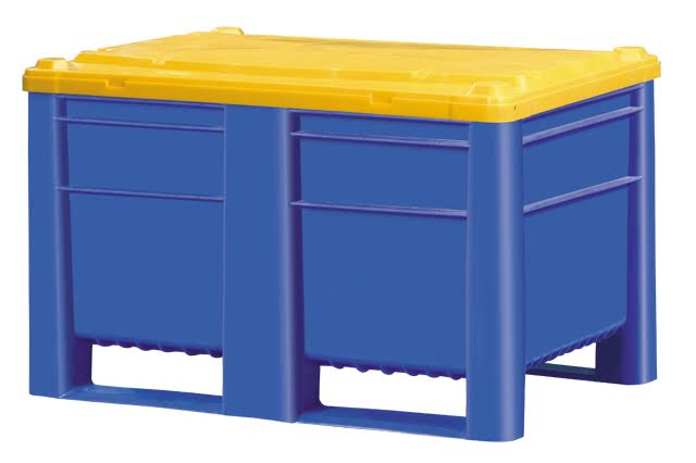Bulk Container by plastic 2 go indonesia - the best large box in jakarta! Solid, HDPE, Euro 1200x800, B2GD1208SLID