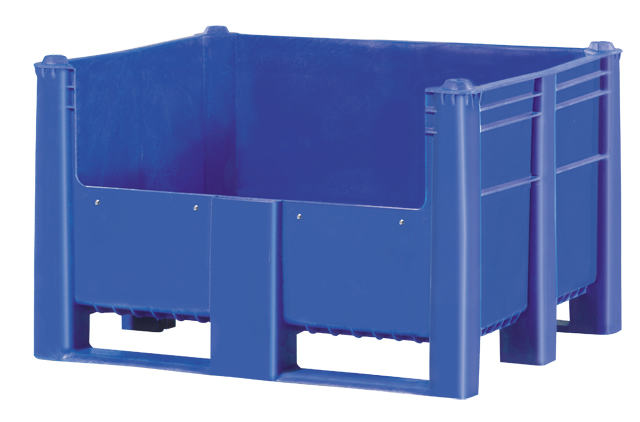 Bulk Container by plastic 2 go indonesia - the best large box in jakarta! Solid, HDPE, ISO 1200x1000, B2GD1210CSO