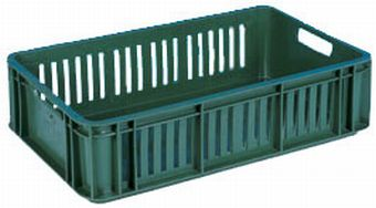 The best plastic crates and containers by Plastic 2 go Indonesia, PE, Stackable, Food, Reusable/RPC, Vented, C2GP1011-07V
