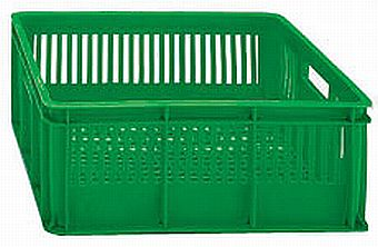 The best plastic crates and containers by Plastic 2 go Indonesia, HDPE, Stackable, Food, Reusable/RPC, Vented, C2GP1023-09V