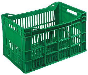 The best plastic crates and containers by Plastic 2 go Indonesia, PP, Stackable, Agriculture, Vented, C2GP183-80V