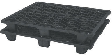 export plastic pallets, one way plastic pallets indonesia,  Export, ISO 1200x1000 , Light Weight, P2G110