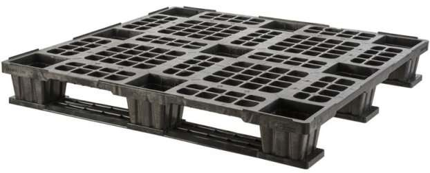 export plastic pallets, one way plastic pallets indonesia,  Export, Australian 1100x1100 , Light Weight, P2G1111-3