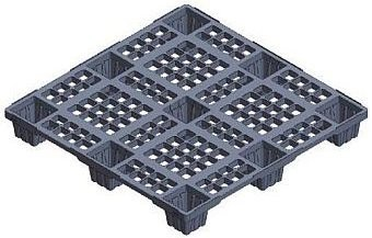 Strong plastic pallets from Plastic 2 go  Indonesia, Export, Australian 1100x1100 , Light Weight, P2G1111