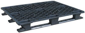 export plastic pallets, one way plastic pallets indonesia,  Export, ISO 1200x1000 , Light Weight, P2G115