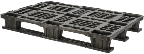 export plastic pallets, one way plastic pallets indonesia,  Export, Euro 1200x800 , Light Weight, P2G1208-3