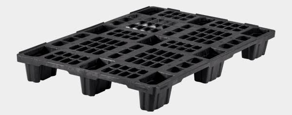 export plastic pallets, one way plastic pallets indonesia,  Export, Euro 1200x800 , Light Weight, P2G1208