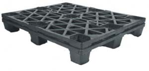 export plastic pallets, one way plastic pallets indonesia,  Export, ISO 1200x1000 , Light Weight, P2G310