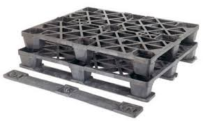 Strong plastic pallets from Plastic 2 go  Indonesia, Export, ISO 1200x1000 , Medium Duty, P2G320