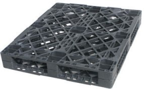 export plastic pallets, one way plastic pallets indonesia,  ISO 1200x1000 , Heavy Duty, P2G420