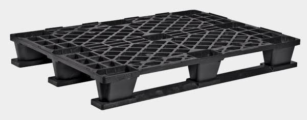 export plastic pallets, one way plastic pallets indonesia,  Euro 1200x800, Export , Medium Duty, P2G840